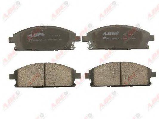 ABE C11066ABE Комплект тормозных колодок, дисковый тормоз