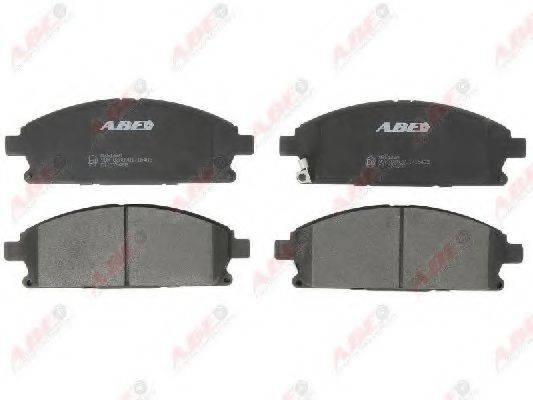 ABE C11076ABE Комплект тормозных колодок, дисковый тормоз