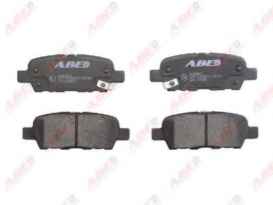 ABE C21042ABE Комплект тормозных колодок, дисковый тормоз