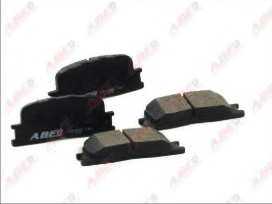Комплект тормозных колодок, дисковый тормоз ABE C22030ABE