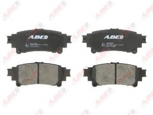 Комплект тормозных колодок, дисковый тормоз ABE C22042ABE