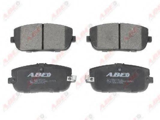 Комплект тормозных колодок, дисковый тормоз ABE C23013ABE