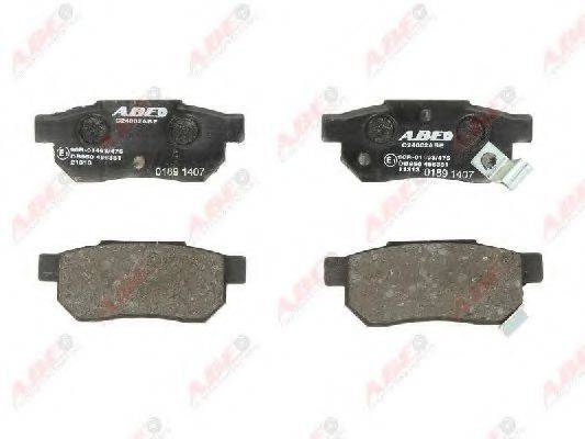 Комплект тормозных колодок, дисковый тормоз ABE C24002ABE