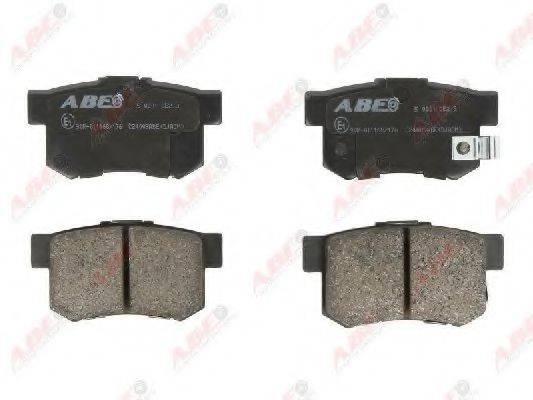 Комплект тормозных колодок, дисковый тормоз ABE C24009ABE