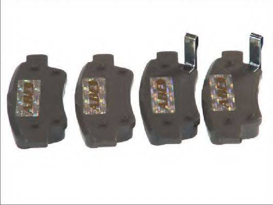 Комплект тормозных колодок, дисковый тормоз ABE C24015ABE