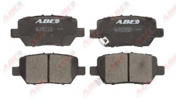 Комплект тормозных колодок, дисковый тормоз ABE C24016ABE