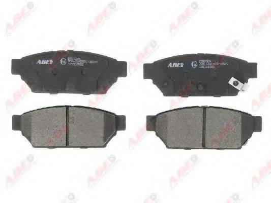 Комплект тормозных колодок, дисковый тормоз ABE C25004ABE