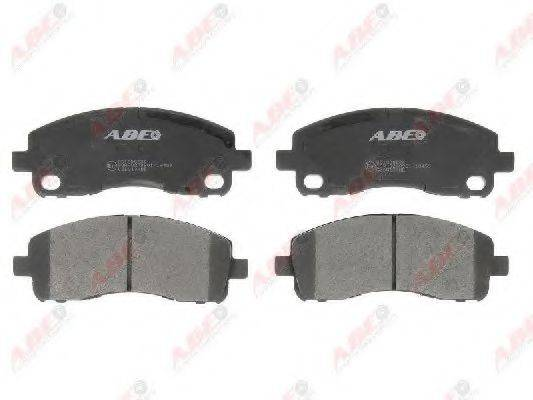 Комплект тормозных колодок, дисковый тормоз ABE C25013ABE