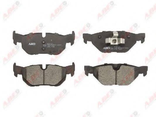 Комплект тормозных колодок, дисковый тормоз ABE C2B017ABE