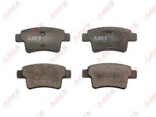 Комплект тормозных колодок, дисковый тормоз ABE C2C011ABE