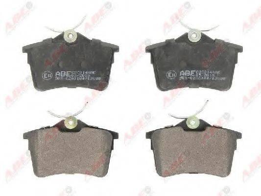 Комплект тормозных колодок, дисковый тормоз ABE C2C014ABE