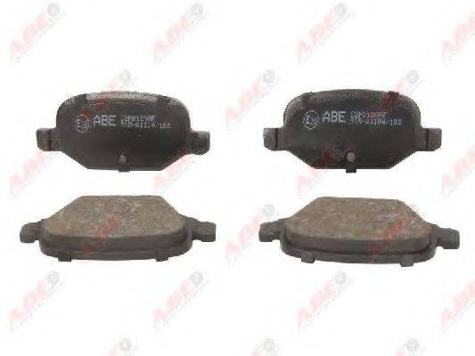 Комплект тормозных колодок, дисковый тормоз ABE C2F012ABE