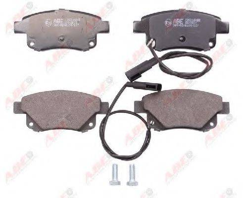 Комплект тормозных колодок, дисковый тормоз ABE C2G016ABE