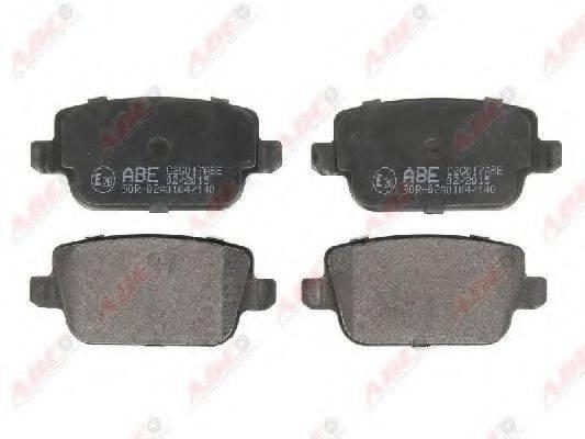 Комплект тормозных колодок, дисковый тормоз ABE C2G017ABE