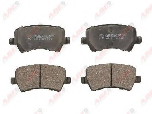 Комплект тормозных колодок, дисковый тормоз ABE C2G019ABE