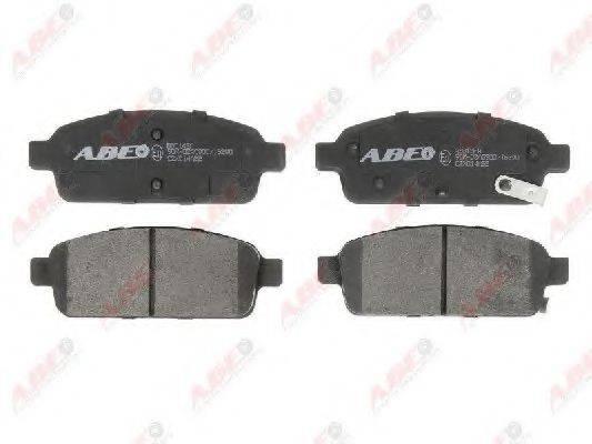 Комплект тормозных колодок, дисковый тормоз ABE C2X014ABE