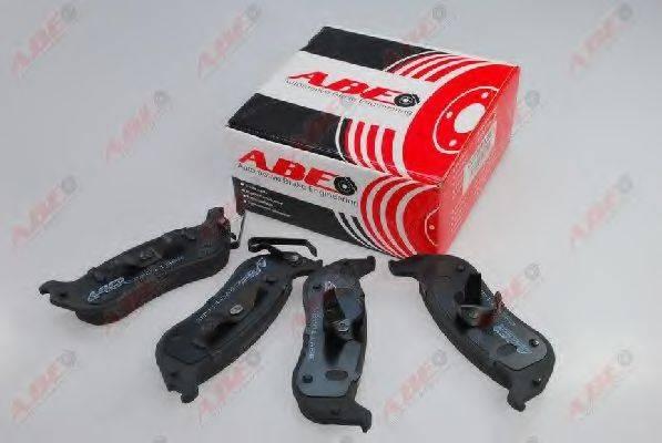 Комплект тормозных колодок, дисковый тормоз ABE C2Y011ABE