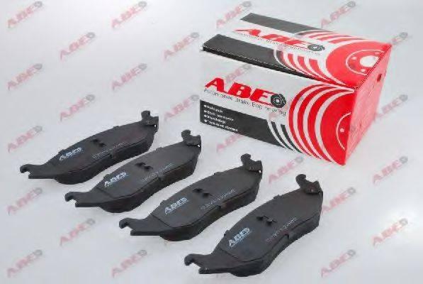Комплект тормозных колодок, дисковый тормоз ABE C2Y012ABE