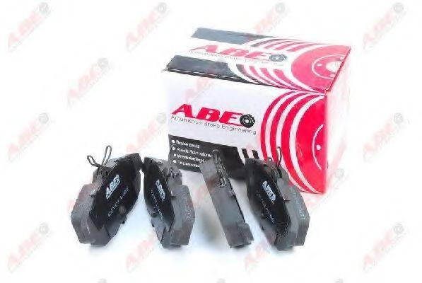 Комплект тормозных колодок, дисковый тормоз ABE C2Y014ABE
