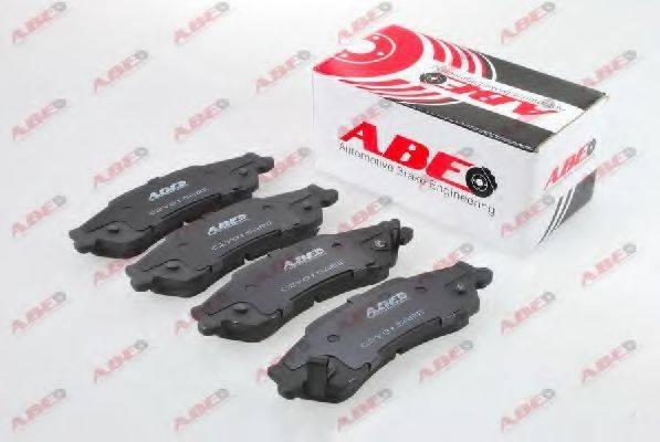Комплект тормозных колодок, дисковый тормоз ABE C2Y015ABE