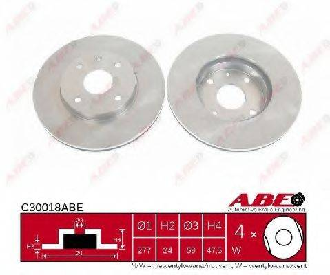 Тормозной диск ABE C30018ABE