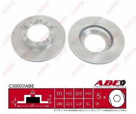 Тормозной диск ABE C30022ABE