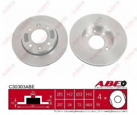 Тормозной диск ABE C30303ABE