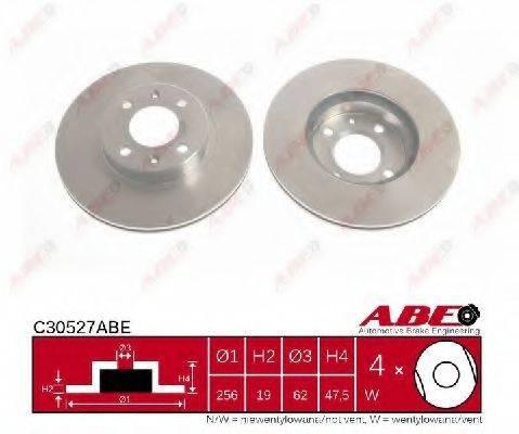 Тормозной диск ABE C30527ABE
