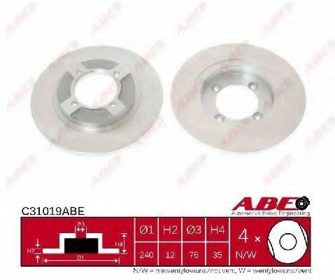 Тормозной диск ABE C31019ABE