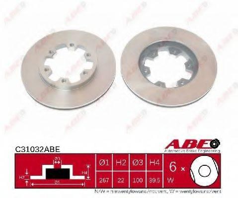 Тормозной диск ABE C31032ABE
