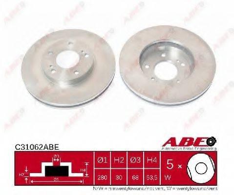 Тормозной диск ABE C31062ABE