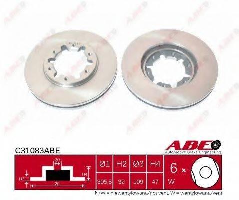 Тормозной диск ABE C31083ABE