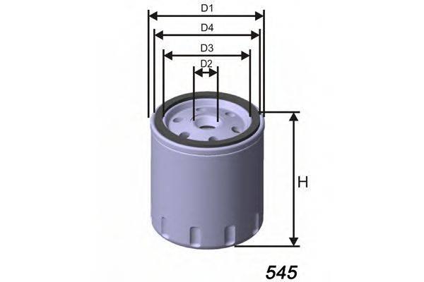 MISFAT Z169 Масляный фильтр