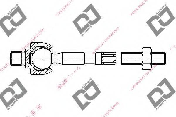 Осевой шарнир, рулевая тяга DJ PARTS DR1243
