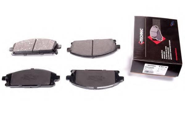 PROTECHNIC PRP0695 Комплект тормозных колодок, дисковый тормоз