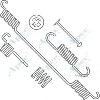 APEC BRAKING KIT764 Комплектующие, тормозная колодка