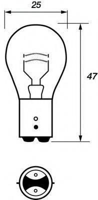 MOTAQUIP VBU380 Лампа накаливания, фонарь указателя поворота; Лампа накаливания, фонарь сигнала торможения; Лампа накаливания, задняя противотуманная фара; Лампа накаливания, задний гарабитный огонь; Лампа накаливания, стояночный / габаритный огонь; Лампа, мигающие / габаритные огни; Лампа накаливания, фара дневного освещения