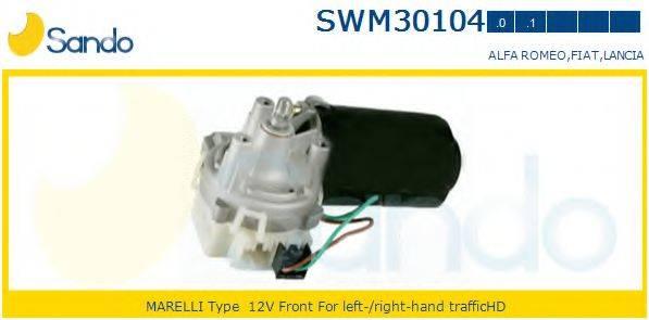 SANDO SWM301040 Двигатель стеклоочистителя