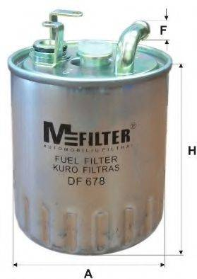 Топливный фильтр MFILTER DF 678