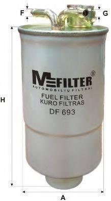 Топливный фильтр MFILTER DF 693