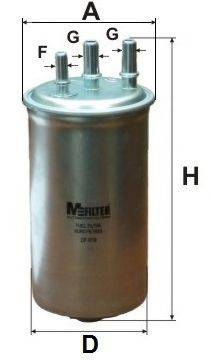 Топливный фильтр MFILTER DF 679