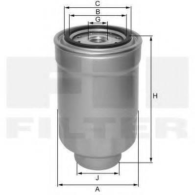 FIL FILTER ZP548BF Топливный фильтр