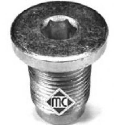 METALCAUCHO 04126 Резьбовая пробка, маслянный поддон