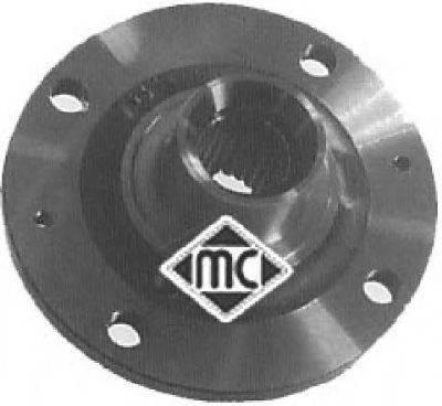Ступица колеса METALCAUCHO 90066