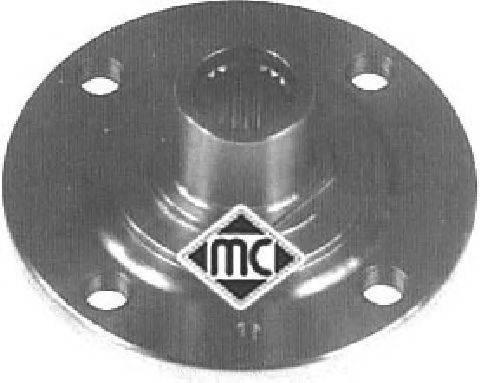 Ступица колеса METALCAUCHO 90067