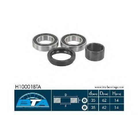 Комплект подшипника ступицы колеса BTA H10001BTA