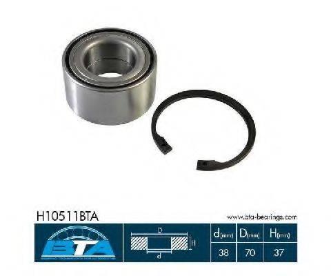 Комплект подшипника ступицы колеса BTA H10511BTA