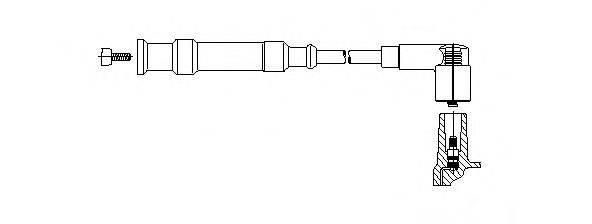 BREMI 17470 Провод зажигания