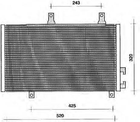 ELECTRO AUTO 30F0052 Конденсатор, кондиционер