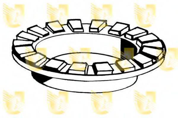 UNIGOM 390148 Опорное кольцо, опора стойки амортизатора